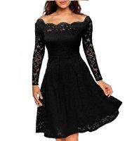 Women-s-Vintage-Floral-Lace-Boat-Best Womens Clothes Online in Kenya