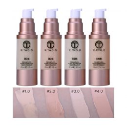 4 Colors Hot Selling Liquid Concealer bottle Long Lasting Whiten Oil-control Flawless Base Makeup Foundation CC cream-Makeup in Kenya