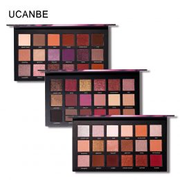 Brand Shimmer Matte Eyeshadow Makeup Palette Long Lasting Waterproof Nude Eye Shadow Highlighter Powder Cosmetic Kit-Makeup in Kenya