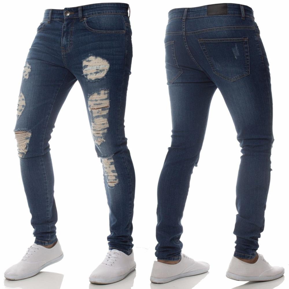 High Quality Popular Mens Ripped Skinny Jeans Buy Men Clothing At