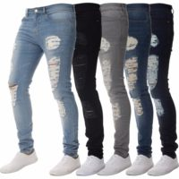 High quality popular mens ripped skinny jeans-Buy Men Clothing at Best Price in Kenya