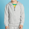 Custom-Cotton-Fleece-Baby-Clothes-Grey-Wholesale