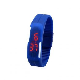 100% Fashion Silicone Smart Luxury wrist watch women with lots colors available