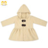 Fashion-Children-Girl-Baby-Blank-Hoodie-Dress