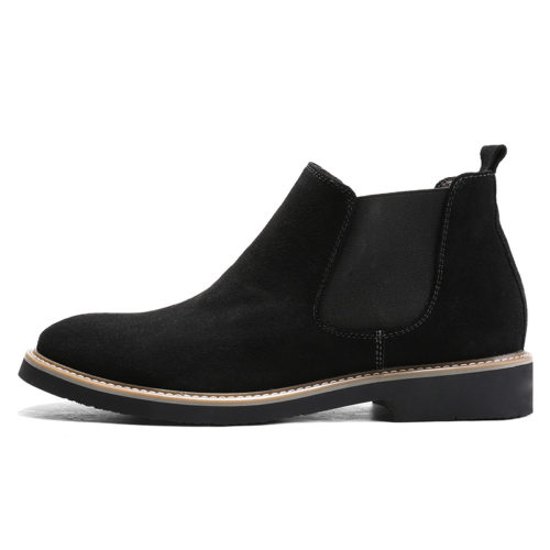 Fashion-Men-Genuine-Leather-Suede-Chelsea-Boots (1)
