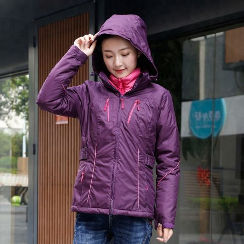 High-quality-winter-warm-thin-hooded-coat