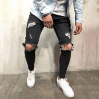 LONGBIDA  Custom Designer Mans Denim Jeans-Buy Men Clothing at Best Price in Kenya