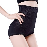 Lady postpartum high waist pants jacquard thin and lace model body beautiful body underwear-Best Womens Clothes Online in Kenya