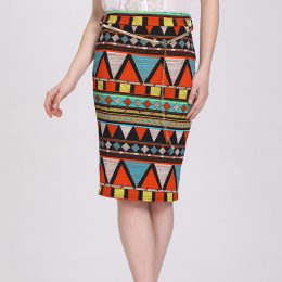 Latest Women Pencil Skirts New Fashion Summer African Print Skirt-Best Womens Clothes Online in Kenya