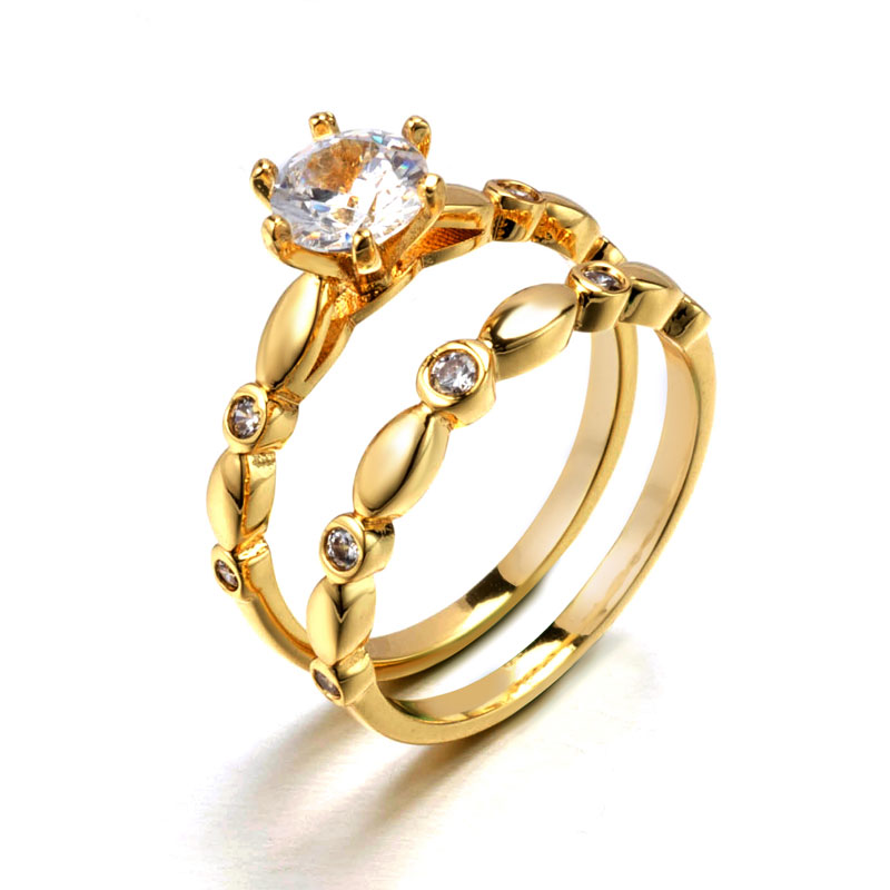 5eba24f31 Latest dubai gold ring designs wedding engagement ring for women ...