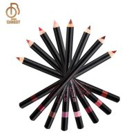 Qibest Brand Waterproof Makeup Wood Lipliner Pencil-Makeup in Kenya
