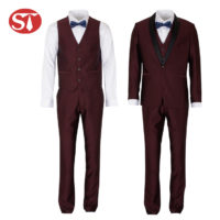 Fashion italian style latest design coat pant men suits