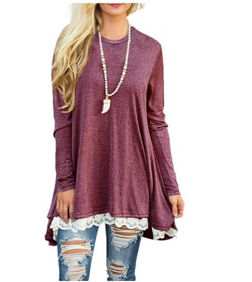 Women-Lace-Long-Sleeve-Tunic-Top-Blouse (2)