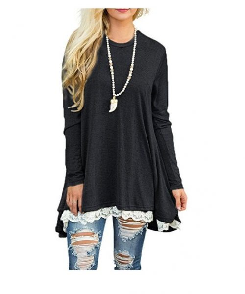 Women-Lace-Long-Sleeve-Tunic-Top-Blouse