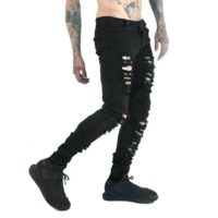 denim pants – distressed stretchy mens womens jeans-Buy Men Clothing at Best Price in Kenya