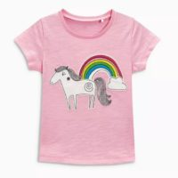 hot sale cheap price unicorn shirt girls cotton tee-Kids clothing store in Kenya-Mombasa,Nairobi
