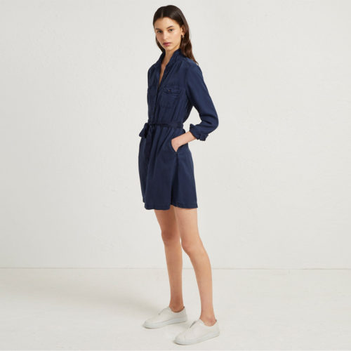Button-up-long-sleeve-belted-short-navy (4)