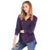 White-Cheap-Classical-Dark-Purple-Long-Sleeves