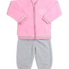 Wholesale-Baby-Girl-Polyester-Fleece-Outerwear-with