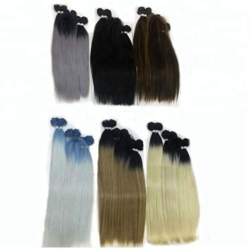 synthetic-hair-wholesale-synthetic-hair-mixing-human