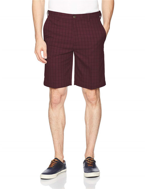 100-polyester-plaid-shorts-for-men-expandable