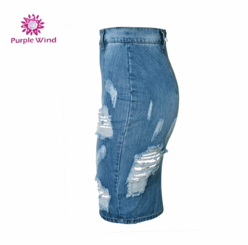 Factory-price-special-design-midi-denim-splitted (1)