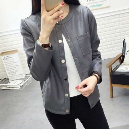 Ladies-spring-grey-leather-blazer-jacket-for (3)