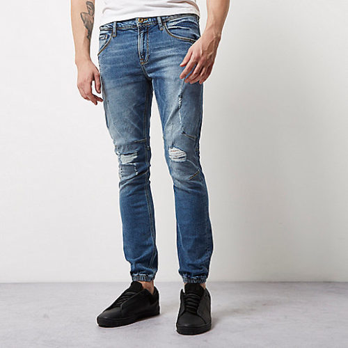 Mid-blue-wash-Ryan-jogger-jeans-High