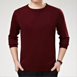 New Autumn Winter New Style Men Male Knitted Sweater