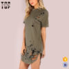 Wholesale-summer-casual-dress-distressed-curved-hem (1)
