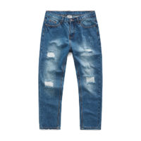 newest design straight leg jeans paint splattered jeans for men