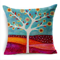 Comfortable 18 inch Customized Cover Sofa Decorative Throw Pillow