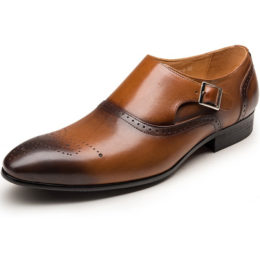 comfortable business casual men genuine leather dress shoes