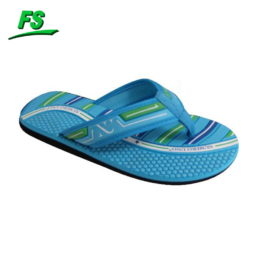 Fabric thong flip flops for men
