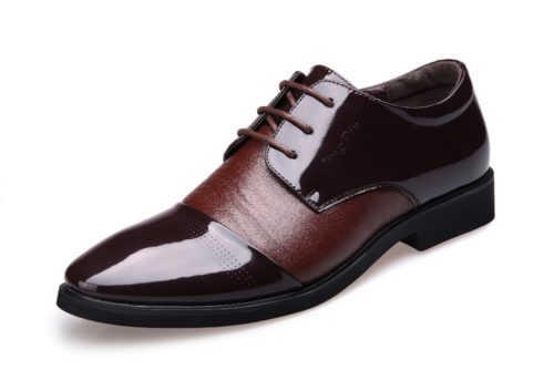 hot-selling-black-Leather-shoes-officer-men