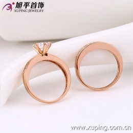 12814 Latest Ladies Engagement Wedding Gold Ring Design Couples Rings Jewelry sale in Kenya
