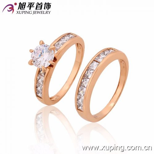 12814-Latest-Ladies-Engagement-Wedding-Gold-Ring (3)