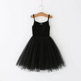 Tutu Dress Baby Girls Casual Spaghetti strap Sleeveless Dress
