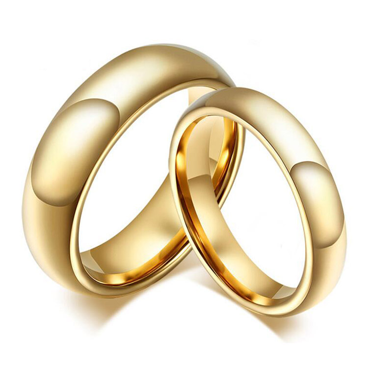 Latest Simple Couple Ring Set Gold Ring Designs For Boys