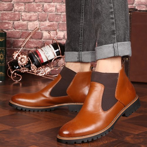 Gowisdom-Autumn-Winter-Genuine-Leather-Ankle-Chelsea (2)