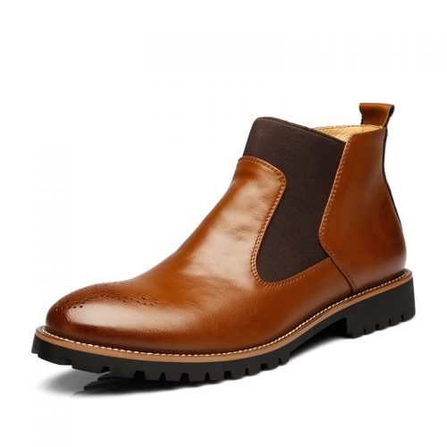 Gowisdom-Autumn-Winter-Genuine-Leather-Ankle-Chelsea