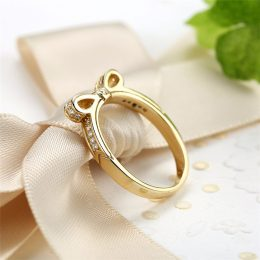 luxurious 925 italian silver ring gold plated jewellery