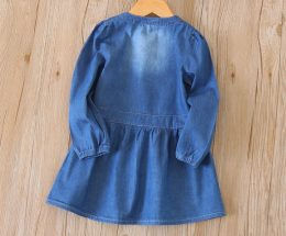 Fashion kids girls denim dresses in Kenya